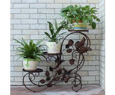 Soporte de macetas compra barato soportes de macetas for Estanteria plantas interior