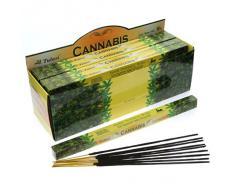 Tulasi - Varillas de incienso con aroma a cannabis
