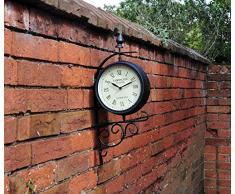 Kingfisher - Reloj de jardín de Estilo estación Victoriana