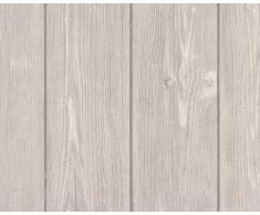 A.S. Creation 896827 Wood n Stone - Papel pintado imitación madera, color beige y marrón