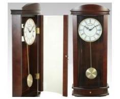 PAME 35958 - Reloj de pared con péndulo, madera, 65 x 27 x 11,5 cm