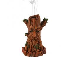 Árbol de hombre quemador de incienso de lisa parker