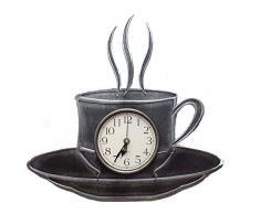 29 x 40 cm cocina reloj de pared reloj de pared de diseño taza de café de muñeca XL 3 D
