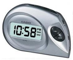 Casio DQ-583-8EF - Reloj de caballero de cuarzo con correa de piel marrón (alarma)