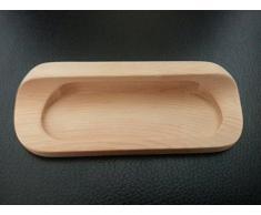 Tirador Tirador de mueble Tirador de armario Tirador empotrado madera auténtica pino distancia entre agujeros taladrados 96mm