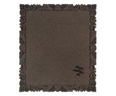 Bi-Office Rococork - Tablón de corcho, 45 x 40 cm, color negro