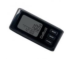 Daffodil HPC650B - Podómetro Multifunción - Memoria de hasta 7 días / Contador de calorías y monitor de progreso diario [Color negro]