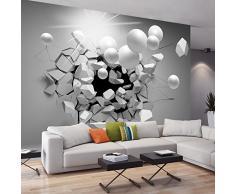Fotomural 350x245 cm - 3 tres colores a elegir - Papel tejido-no tejido. Fotomurales - Papel pintado - Abstraction Bala 3D a-C-0002-a-d