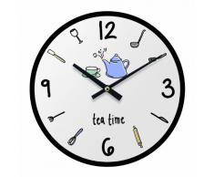 Premier Housewares Doodle - Reloj de pared