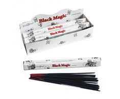 Stamford Black Magic - Varillas de incienso (6 paquetes de 20 varillas)