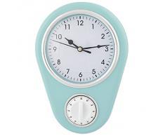 Reloj de Pared Vintage con Temporizador