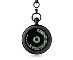 ZIIIRO reloj de bolsillo - Titan - Negro