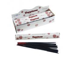 Stamford Happiness - Varillas de incienso (6 paquetes de 20 varitas)