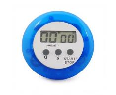 Sonline Temporizador de Cocina - Azul Digital Electronico Magnetico