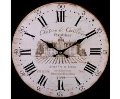 Reloj de pared vintage grande estilo rústico