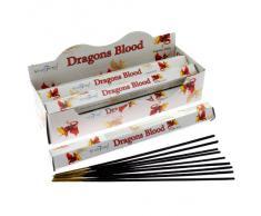 Stamford McGuinness Blood - Varillas de incienso, lote de 6 paquetes