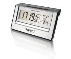 Dexford RCTS190 funciona con reloj de mesa solar con despertador controlado por