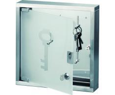Zeller-Present - Armario para llaves con puerta de cristal