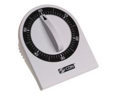CDN - Temporizador de cocina mecánico (1 hora, cuenta los minutos)