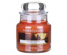 Yankee Candle Classic Housewarmer Pequeña, Amber Moon, Vela Perfumada, Ambiente Fragancia en Vaso / Jar, 1315049E