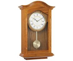 London Clock Company LC25058 - Reloj de pared con péndulo (madera de roble)