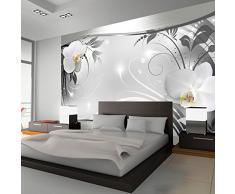 Fotomural 250x175 cm ! 3 tres colores a elegir - Papel tejido-no tejido. Fotomurales - Papel pintado 250x175 cm - flores orquídea ornamento abstracción b-A-0078-a-b