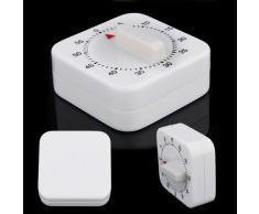 SODIAL(R) 1 Hora cocina mecanica Cocina Escritorio Juego Countdown Timer Parar Reloj despertador