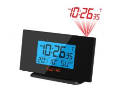 Labs LABS BL505 - Reloj despertador con proyección de la hora, color negro