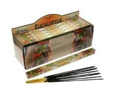 Tulasi - Varillas de incienso con aroma a eucalipto, lote de 25 paquetes