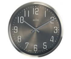 Acctim 27467 Alvik Reloj de pared 30 cm, acero cepillado