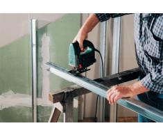 Wolfcraft 2315000 - 2 hojas de sierra de calar vástago en t / hss / tarima para terrazas, madera contrachapeada, encimeras de cocina, entarimado, plásticos / corte limpio y fino 75 mm