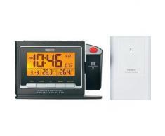 Eurochron PEF 3900 - Reloj inalámbrico con proyector, 136 x 91 x 40 mm