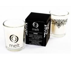 Melt Shine - Vela aromática en vaso de cristal