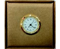 Mecanismo de Reloj para reloj de pie. Diametro 25mm. Escala 1/12