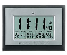 AMS Radio reloj de pared y de mesa 5890