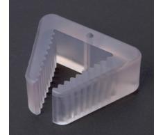 1 ventana protección contra el pinzamiento Tope de ventana el dedo aprieta la protección tope ventana Seguro para ventana plastico transparente 58 x 46mm