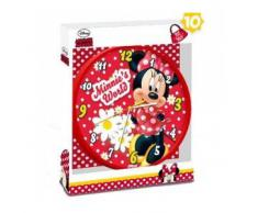 Disney. Minnie Mouse. Kids. Reloj de pared para la decoración de la habitación de los niños