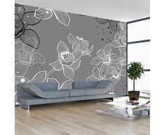 Fotomural 50x39 cm ! Papel tejido-no tejido. Fotomurales - Papel pintado 50x39 cm - flores 10040906-50