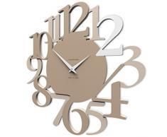 Calleadesign - Reloj de pared Russell, café con leche