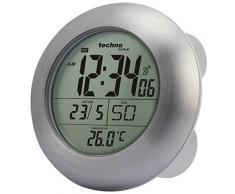 Technoline Wt 3000 Reloj para baño radio-controlado, Aluminio