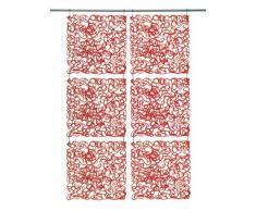 Koziol biombo/decoración Fusion, plástico, 27,2 x 27,2 cm, plástico, rojo, Hauteur 27 Largeur 27 Profondeur 0.3