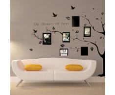 Ecloud Shop Vinilo Decorativo Pegatina Decorativa Adhesivo con tema de Planta Pared Pintura
