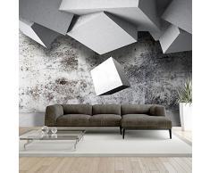 Fotomural 350x245 cm ! Papel tejido-no tejido. Fotomurales - Papel pintado Concreto abstracción f-A-0326-a-a