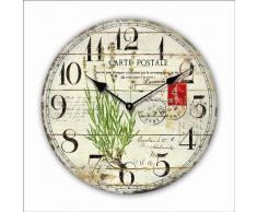 Reloj de pared diseño Postcard - 30cm - Tinas Collection