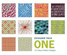 Papel para papiroflexia - Paquete de regalo de 100 hojas de estampados de diseño (colección 1)