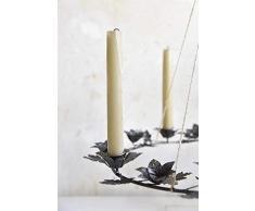 Jeanne dŽArc living Corona de Adviento, candelabro, portavelas con Soporte, Altura 50 cm