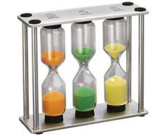 Kuchenprofi 26C201406 - Reloj de arena para cocina, 3 tiempos