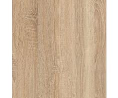 Habitdesign 001638F - Mesa de Centro elevable, mesita Mueble Salon Comedor, Medidas: 102 cm (Ancho) x 50 cm (Fondo) x 43/52 cm de (Alto) (Roble Canadian)