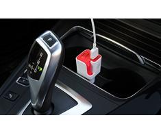Ionizador Ambientador de aire para coche con toma usb para carga móvil