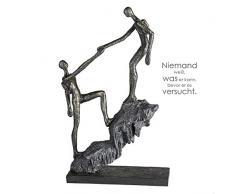 Casablanca - Escultura - Figura - Figura Decorativa - Llegada - Poly - Color: Bronce